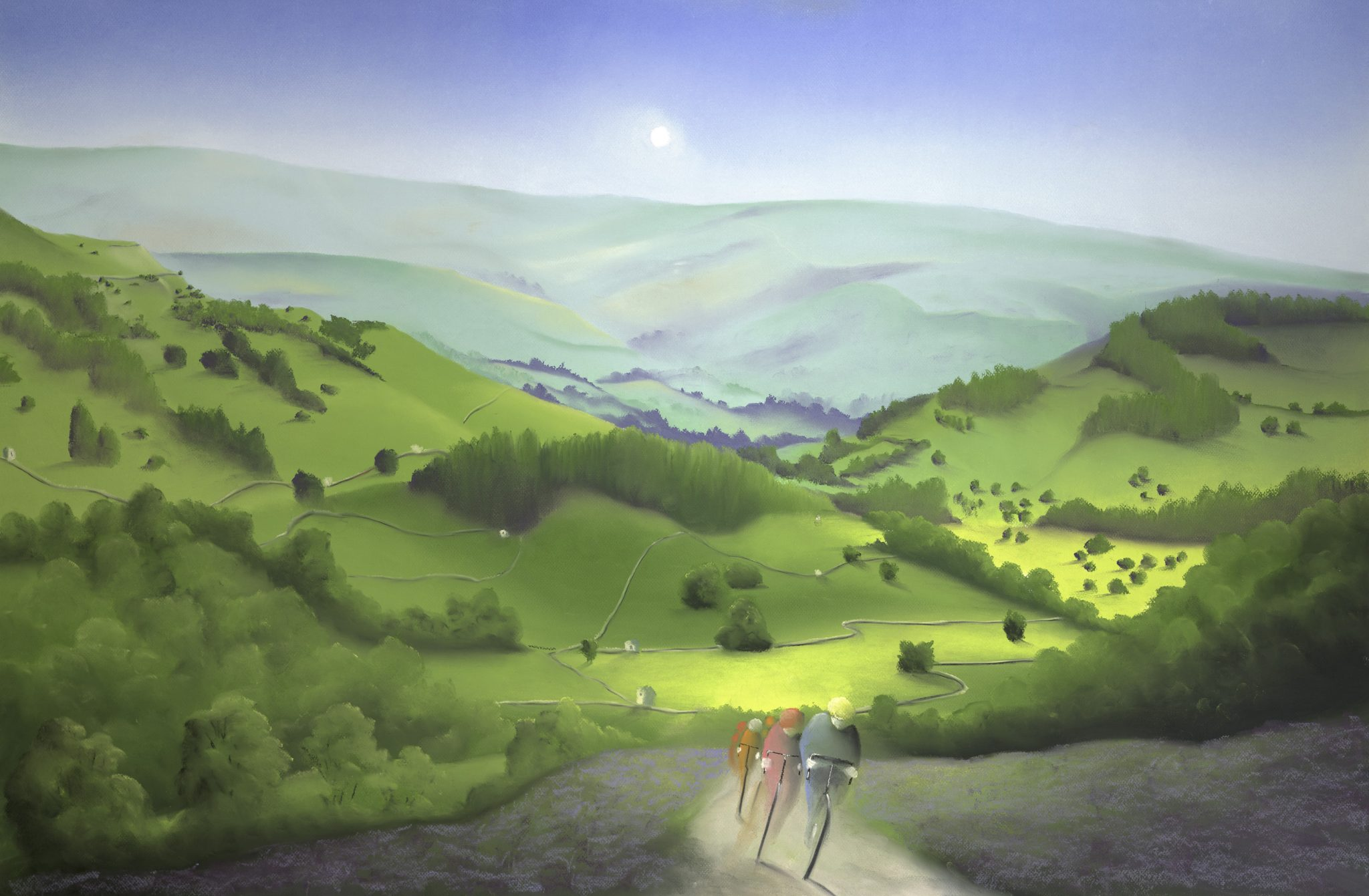 Over Moor and Dale Artist Mackenzie Thorpe