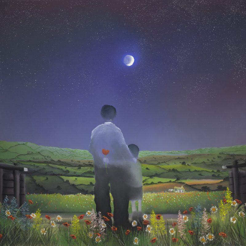 Mackenzie Thorpe Under Moon and Stars