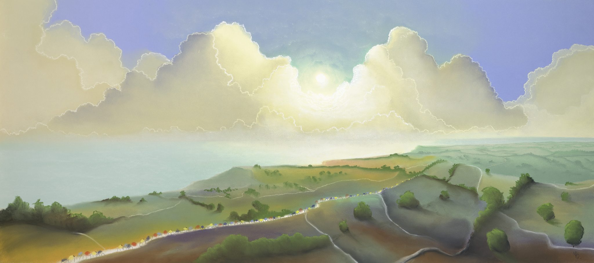 Yorkshire Coast Artist Mackenzie Thorpe