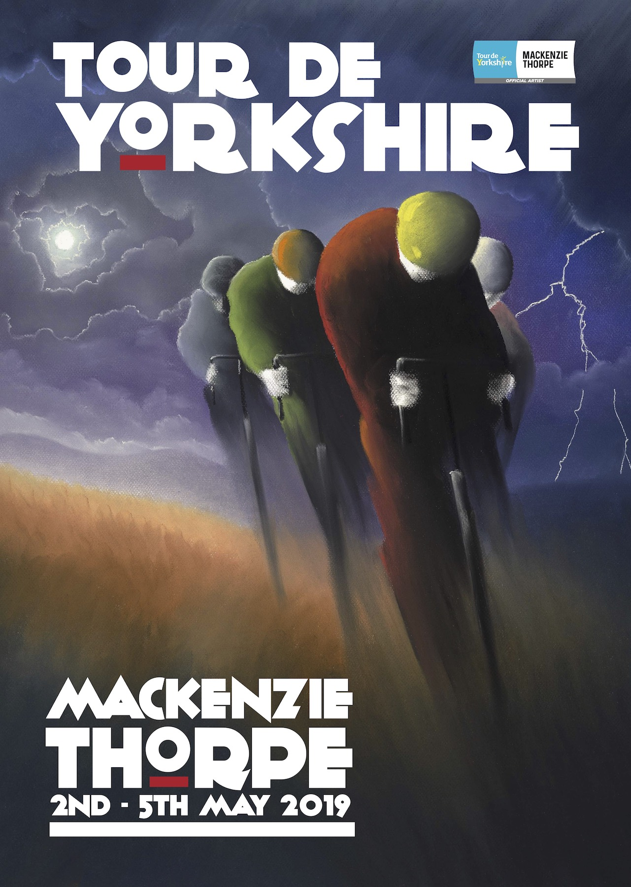 Riders of the Storm artwork from Mackenzie Thorpe