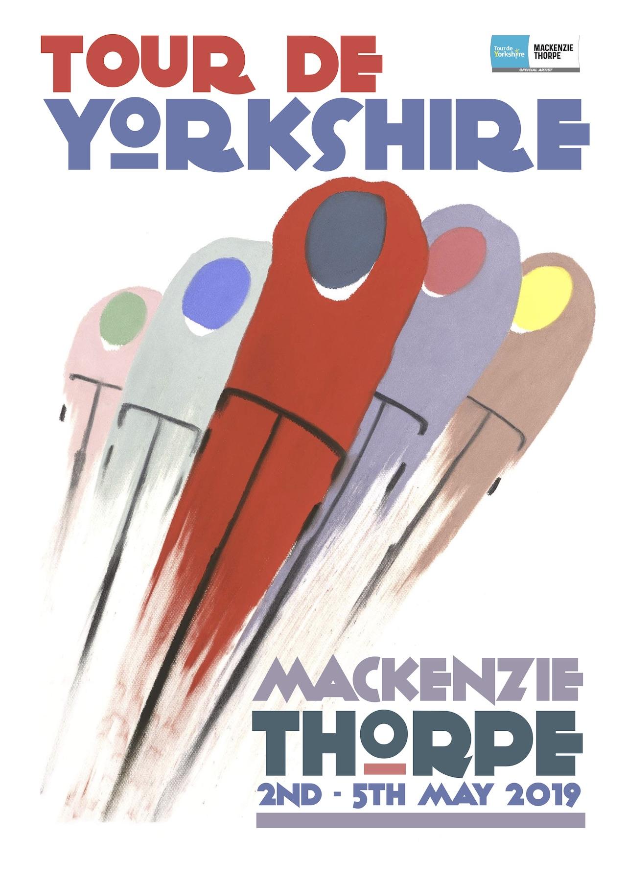 Round The Bend artwork from Mackenzie Thorpe